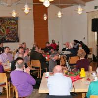 Begrüßung der Gäste aus der Politik und Vereinen durch den 2. Vorsitzenden des OV der SPD