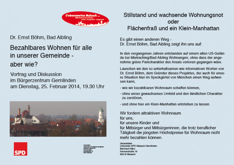Bild Flyer Böhm